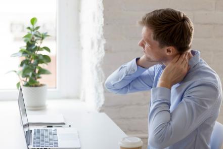 nyakfájdalom rossz testtartás