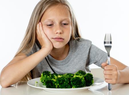 Gyerek rosszul eszik