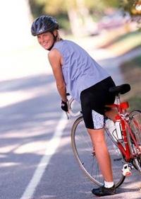 női nemi szerv kerékpár