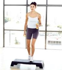 aerobikozó nő, gospel-aerobik