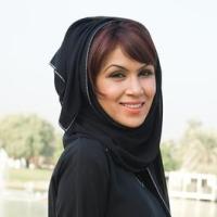 szaúdi nő, sportolás
