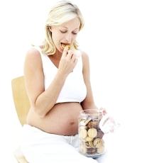 terhesség, hízás